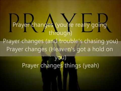 R  Kelly - Prayer Changes (Lyrics)