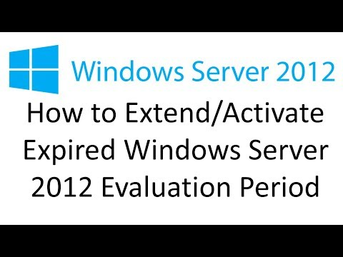How to Activate Expired Server 2012 - YouTube