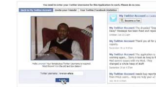 Add A Twitter Box On Your Facebook Page
