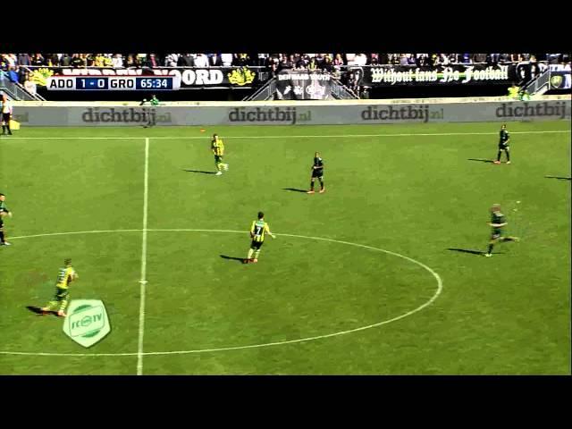 Samenvatting ADO Den Haag - FC Groningen 3-0 (2014-2015)