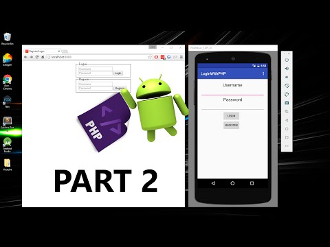 Android App Login With PHP and MYSQL Part 2