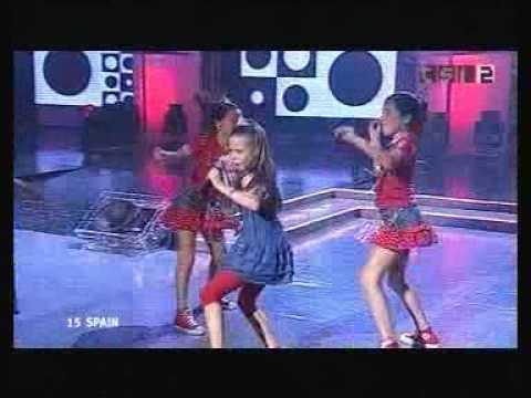 Junior Eurovision 2004 Spain (Winner). Maria Isabel Muerta Que Sencilla