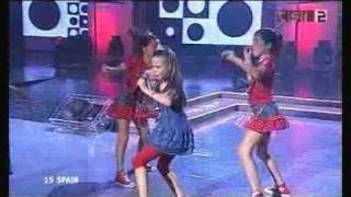 Junior Eurovision 2004 Spain (Winner). Maria Isabel Muerta Que Sencilla