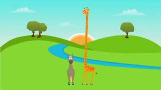 Louis CK - Giraffe und Pferd (Animiert)