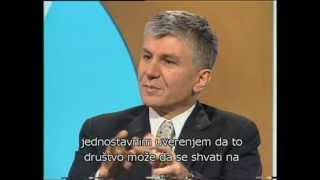 Zoran Djindjic - intervju na nemackom jeziku