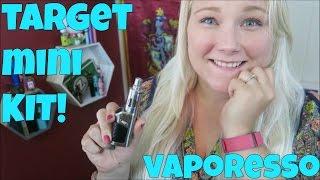 Vaporesso Target Mini Kit! | TiaVapes Review