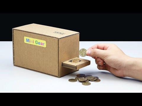 Cara Membuat Bank Koin  Video Kreatif Kreasi Barang Bekas