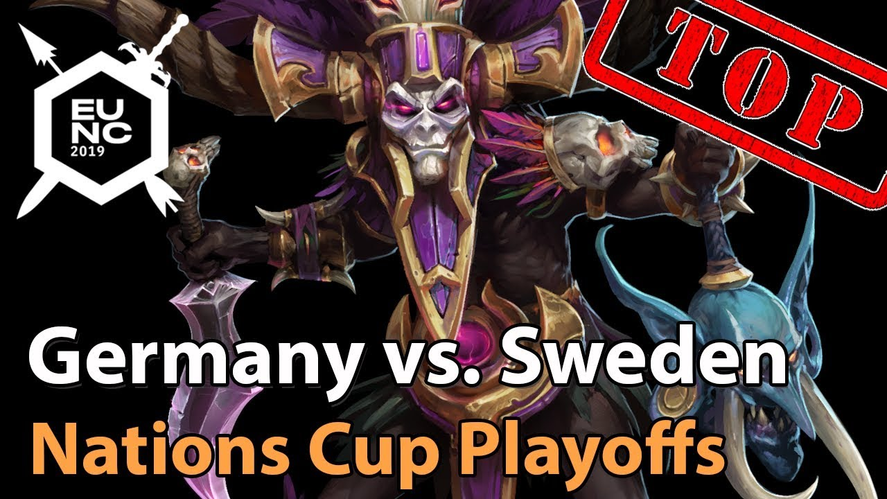 ► Sweden vs. Germany - Nations Cup Quarterfinal -  Heroes of the Storm Esports