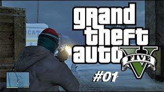 Grand Theft Auto - V / # 01 - Prolog /Prepadnutie Banky SK