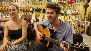 """The Feelings Parade """"The Tides"""" playing a 1964 Gibson B-25 at Norman's Rare Guitars"""