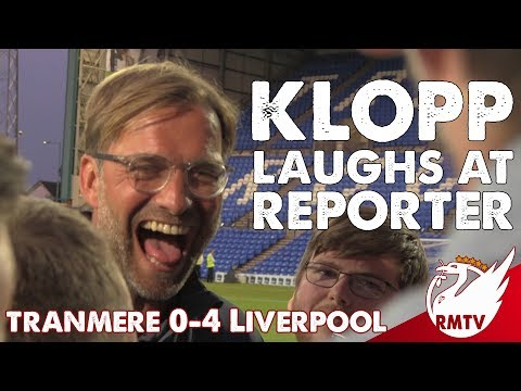 'I'm Not Nervous About Transfers!' | Jurgen Klopp Laughs at Reporter! [FUNNY INTERVIEW]