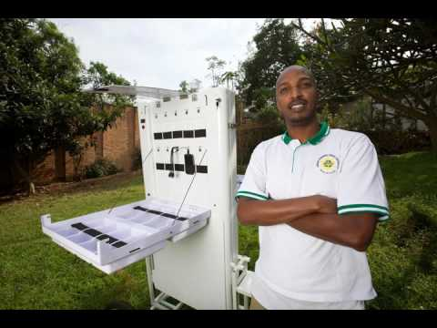 Ep. 5: How a young Rwandan started a Mobile Solar Kiosk company in Africa