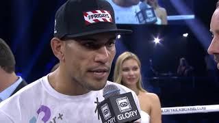 GLORY 65: Alex Pereira Post Fight Interview