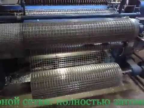 Сетка сварная рулонная производство