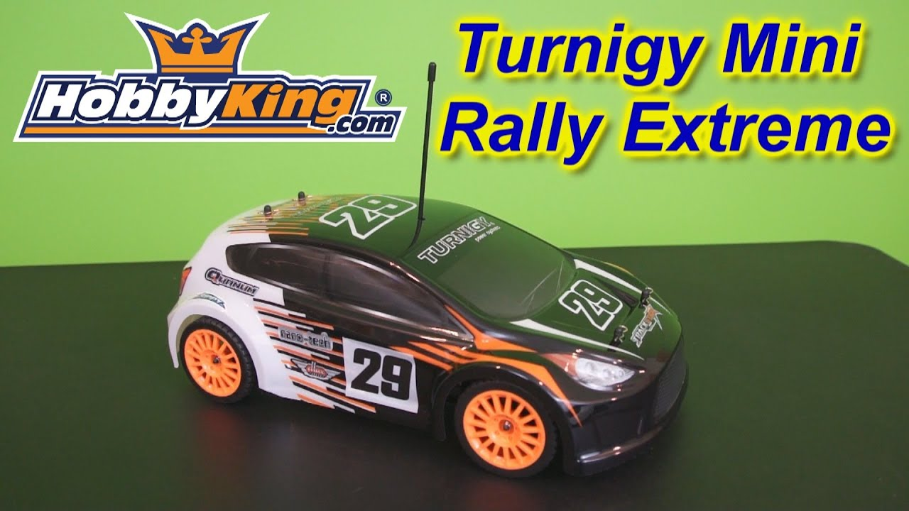 Turnigy 1 16 Scale Mini Rally Extreme Rc Car Youtube