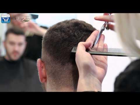 Crew Cut Hairstyle - Short Men's Hair Tutorial - By Vilain Silver Fox