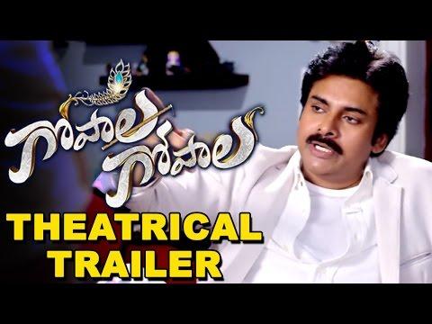 Gopala Gopala Theatrical Trailer || Pawan Kalyan, Venkatesh