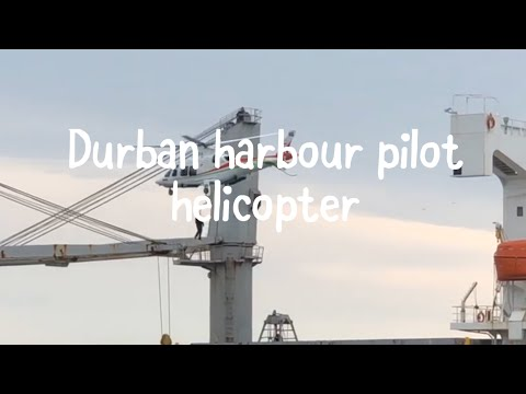 Durban harbour pilot helicopter