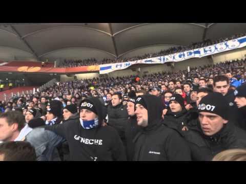 VFB Stuttgart- KRC Genk: Europa League 2012-2013 sfeer