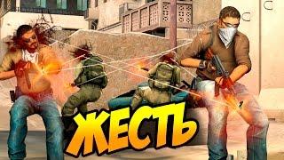 КОМАНДА ЧИТЕРОВ ПРОТИВ КОМАНДЫ ЧИТЕРОВ (CS:GO)