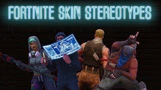 Fortnite Skin Stereotypes