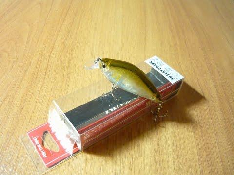 Обзор воблера 3D Flat Crank Yo-Zuri (Воблеры на щуку)