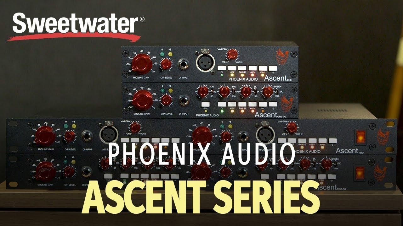 Ascent One EQ | Phoenix Audio
