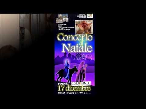 Concerto di Natale 2017 - CORI UNITI