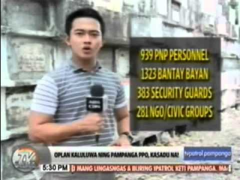 TV Patrol Pampanga - October 31, 2014