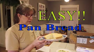 EASY Pan Bread Great Depression Cooking