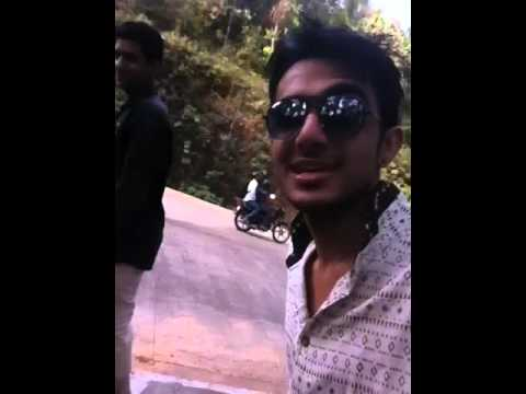 walking in dharmasthala roads by manoj dewasi
