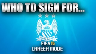 FIFA 16 | Who To Sign For... MANCHESTER CITY CAREER MODE