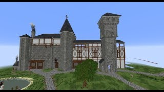 🔴 Building an EPIC CASTLE in MINECRAFT! | LIVE | [#21]