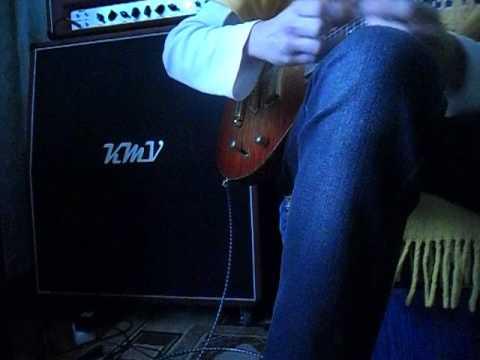 Corvan DC Sample guitar tube stack