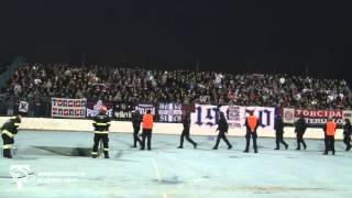 Torcida Split / NK Osijek - Hajduk Split 1:0 (16. Kolo MAXtv Prva Liga)