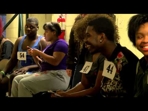 "Students line up to audition for Cleveland's All-City Arts musical ""Memphis"""