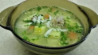 """""""Уха"""" из головы толстолобика или рыбный суп"""