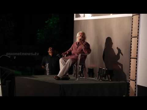 Indian Film Director Adoor Gopalakrishnan Sharing His Experience in Film industry IV