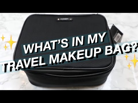 What's in my Travel Makeup Bag? // thejeanax thumbnail