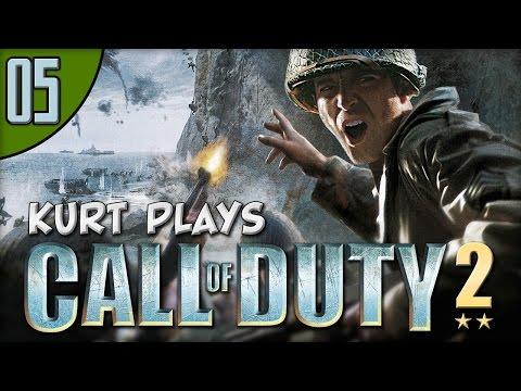 Kurt Plays Call of Duty 2 - E05 - Captain Price!