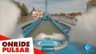 PULSAR: First On-ride video (POV) - Walibi Belgium(Discover the first on-ride video of PULSAR, the new world premiere splashcoaster in Walibi Belgium. From 0 to 100 km/h in a few seconds? A free fall of 45 ..., 2016-05-07T10:02:58.000Z)
