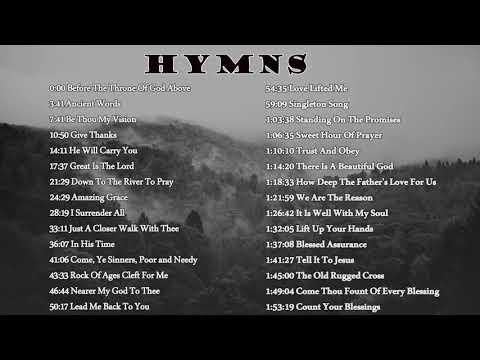 2021 Beautiful Hymns To Listen - Gospel Music