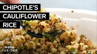 Is Chipotle's Cauliflower Rice Worth The Extra $2?