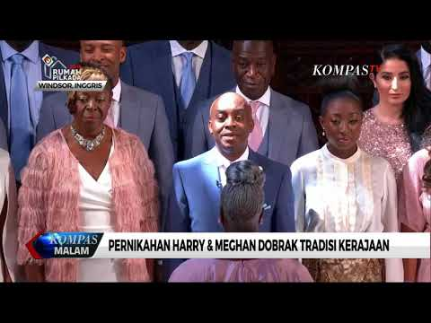 Sah, Pangeran Harry dan Meghan Markle Jadi Suami Istri