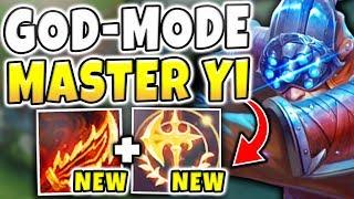 NEW RAGEBLADE + KEYSTONE = NEW WORLD RECORD DPS! S8 MASTER YI GAMEPLAY! - League of Legends