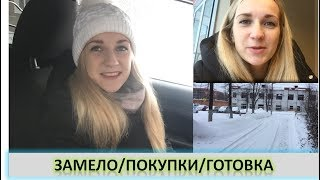 Vlog/Нас замело/Покупки/Готовка