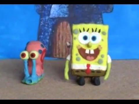 SpongeBob Clay Animation (12fps) 2011