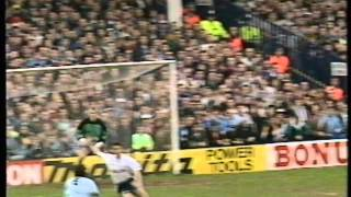 Notts County VS Tottenham Hotspur, FA Cup Round 6; 10th March 1991