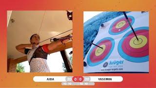 Aida Roman caps impressive #LockdownKnockout quarterfinal against Yasemin Anagoz