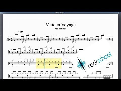 Maiden Voyage Rockschool Grade 3 Drums